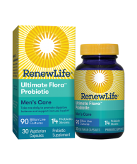 Renew Life, Ultimate Flora Men's Care Probiotic 90 Billion, 30 Vegetable Capsules