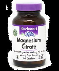 Bluebonnet Magnesium Citrate, 60 Caplets