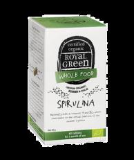 Royal Green  Certified Organic Spirulina, 60 Tablets