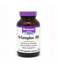 Bluebonnet B-Complex 100, 100 Veg. Capsules