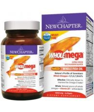 New Chapter Whole mega, Whole Fish Oil, 60 softgels
