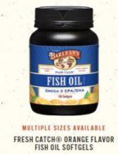 Barlean's Fish Oil Omega - 3 EPA/DHA, 100 Softgels
