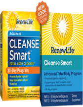 Renew Life, Cleanse Smart, 30 Day Program 120 Vegetable Capsules