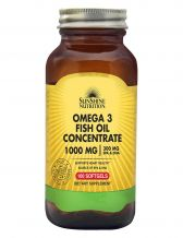 Sunshine Nutrition Omega 3 Fish Oil Concentrate 1000mg