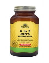 Sunshine Nutrition  A to Z Men's Multivitamin, 100 Tablets
