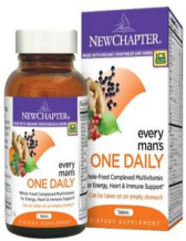 New Chapter, Every Man's One Daily Multivitamin, 72 Tablets
