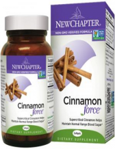 New Chapter - Cinnamon Force, 30 Liquid Vegetable Capsules