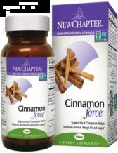 New Chapter - Cinnamon Force, 30 Liquid Vegetable Capsules