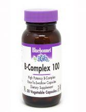 Bluebonnet B-Complex 100, 50 Capsules
