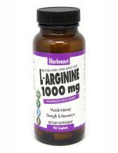 Bluebonnet L-Arginine 1000mg , 90 Capsules